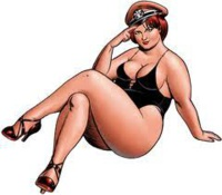 Les hommes préfèrent les grosses !