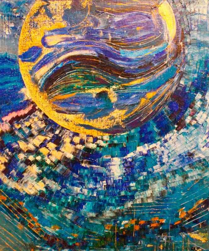 Cosmos Bleu pour un Tour Jaune - M. Rubington