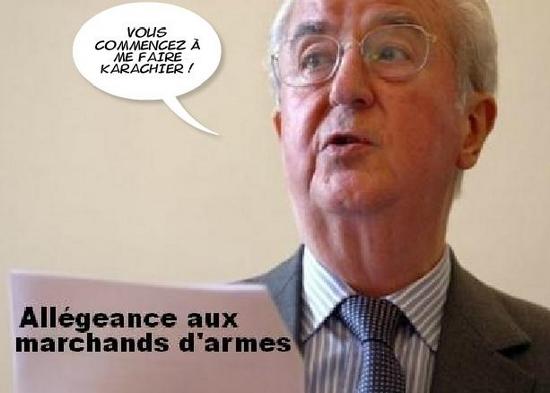 L'INDIGNATION DE BALLADUR